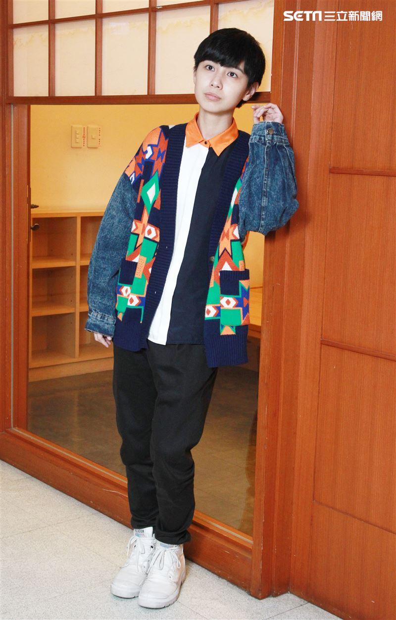 魏嘉瑩接受三立新聞網專訪。(記者邱榮吉/攝影)