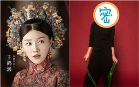 《延禧攻略》番外篇《金枝玉葉》女主角王鶴潤(圖/翻攝自微博)