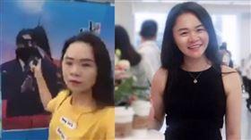 中國女對習近平肖像潑墨!遭送精神病院 疑被喂藥變癡呆 董瑤瓊 圖/翻攝自推特