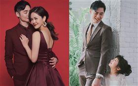 宋逸民跟老婆陳維齡夫妻結婚17年,重拍婚紗紀念。翻攝宋逸民和陳維齡的幸福生活臉書