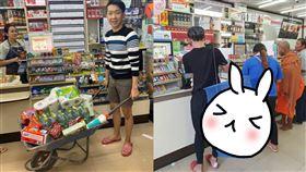 泰國,限塑政策,民眾,洗衣網,手推車,鍋子,竹籃,商店