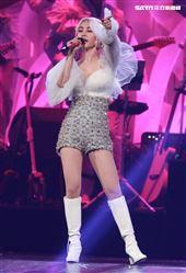 蔡依林舉辦「Ugly Beauty」巡迴演唱會來到第四場,蔡依林化身發條爆乳雪姬。(記者邱榮吉/攝影)