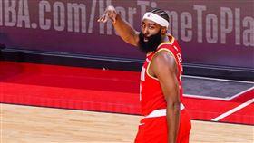 ▲哈登(James Harden)44分11籃板11助攻,本季首度「大三元」。(圖/翻攝自火箭推特)