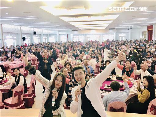 包偉銘兒子包庭政老婆劉依純到台南做公益翰森娛樂提供