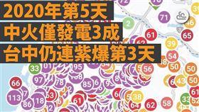 台中,空汙,紫爆,洪慈庸 圖/翻攝自洪慈庸臉書