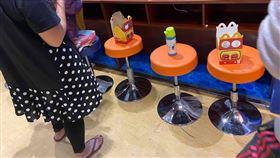 身教,爆料公社公開版,兒童遊戲區,佔座位,佔位 圖/翻攝自爆料公社公開版