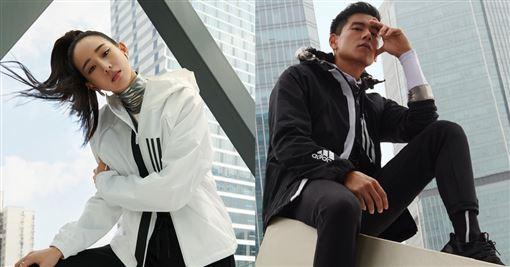 彭于晏、張鈞甯(adidas提供)