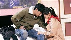 伊能靜、秦昊參加綜藝《我就是演員》。翻攝搜狐娛樂