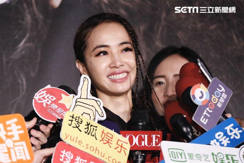蔡依林「Ugly Beauty」台北站慶功記者會(圖/記者林聖凱攝影)