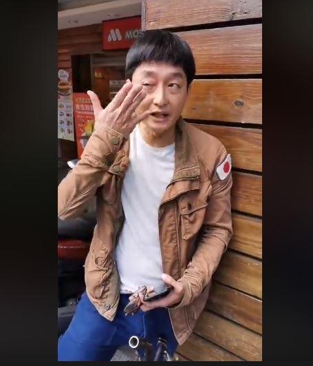 柯宇綸「遭統促黨狂巴」30分關鍵畫面(圖/翻攝自臉書)