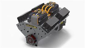 ▲可取代燃油引擎的V8 EV Crate Motor電動系統。(圖/翻攝網站)