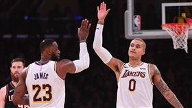 NBA/被賣?庫茲馬:湖人球員日常 NBA,洛杉磯湖人,Kyle Kuzma 翻攝自推特
