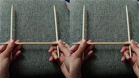 「請問筷仙這次總統是某某某當選嗎」 一群學生玩到失控折斷:再也不敢了(圖/靈異公社)