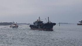 澎湖海巡查扣大陸油補船