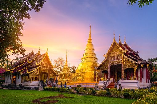 華航6月23日首航泰國清邁  每週4班清邁為泰國第2大城,至今仍保留許多文化遺產與寺廟,中華航空6日宣布6月23日首航泰國清邁,每週4班。(華航提供)中央社記者汪淑芬傳真  109年1月6日