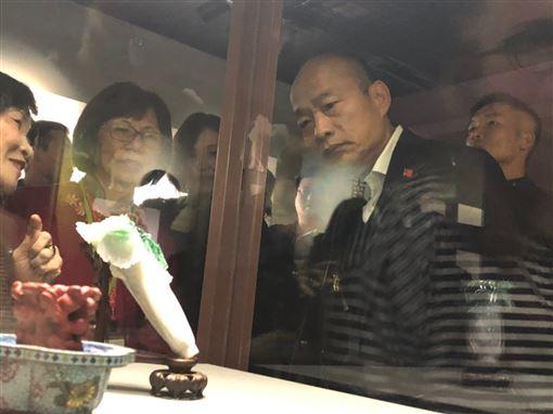 韓國瑜逛故宮,(圖/韓辦提供)