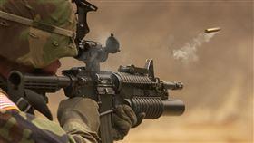 槍 美軍 示意圖 圖/pixabay