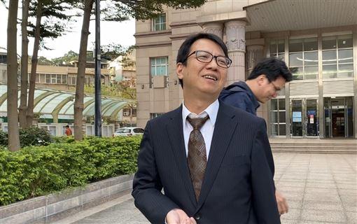 梁敏婷所屬律師林晉宏。(記者洪素津攝影)