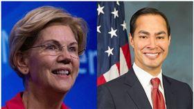 上週退出美國民主黨總統提名戰的德州聖安東尼奧市(San Antonio) 前市長卡斯楚(Julian Castro) ,今日表態支持另一參選人,即聯邦參議員華倫(Elizabeth Warren)。(圖/翻攝自維基百科)