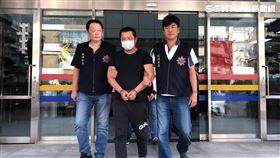 台北市大同分局破獲地下錢莊暴力討債集團(楊忠翰攝)