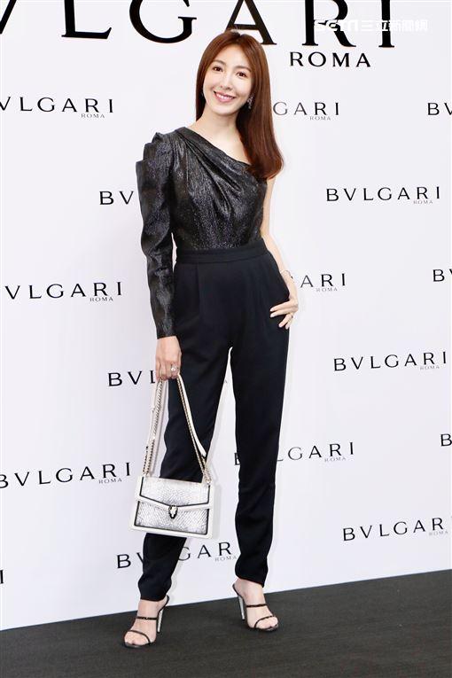氣質女星楊謹華出席「BVLGARI 2020春夏配件系列預覽會」▲(圖/記者林聖凱攝影)