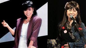 女歌手廣谷順子(右上)乳腺癌逝世。(圖/翻攝自廣谷順子官網/臉書)