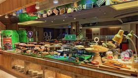 ▲翔雲西餐廳以蘇花改公路為主題規劃餐點(圖/翰品酒店花蓮提供)