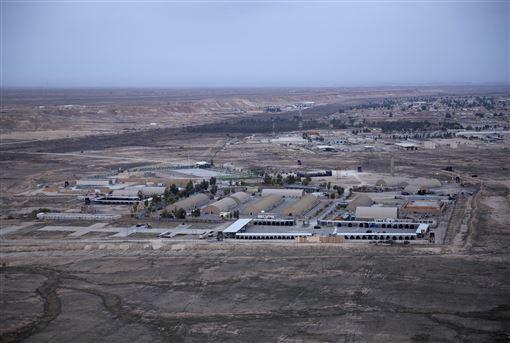 美軍駐伊拉克基地,阿薩德空軍基地,Al-Asad Air Base。(圖/美聯社/達志影像)