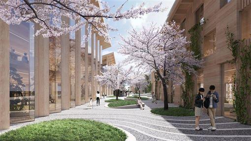 ▲由丹麥建築師Bjarke Ingels設計的Toyota概念城市。(圖/翻攝網站)