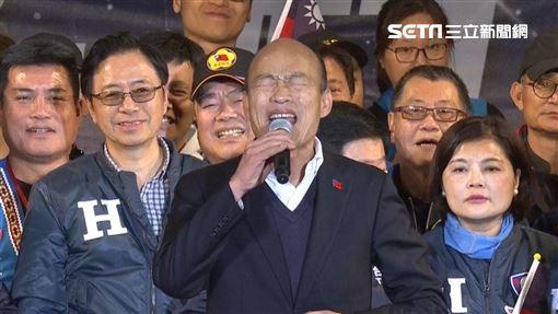 韓國瑜、台中造勢