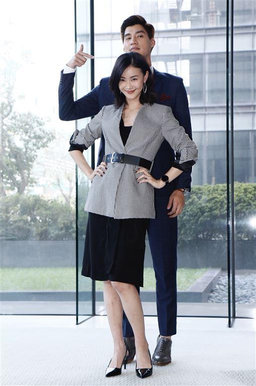 鍾瑶、羅宏正。(記者林聖凱攝影)