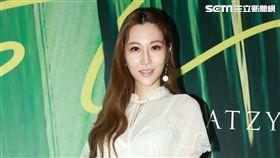 藝人曾莞婷今(8日)出席「夏姿‧陳SHIATZY CHEN 2020春夏預覽會」(圖/記者林士傑攝影)