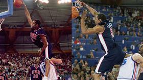 NBA/曾被卡特飛過…他想重現經典 NBA,灌籃大賽,Vince Carter,奧運,Frederic Weis,死亡之扣 翻攝自推特
