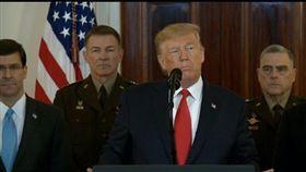 伊朗,川普,伊朗革命衛隊,美軍基地,導彈,伊美,發表談話,白宮
