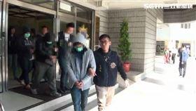 警方訊後將劉男等人依違反選罷法及賭博等罪送辦(翻攝畫面)
