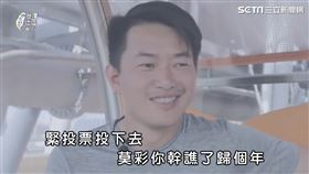▲歌詞內容呼籲民眾,總統大選在即,為了自己也為了台灣,1/11一起回家投票。(圖/台灣迷因 授權)