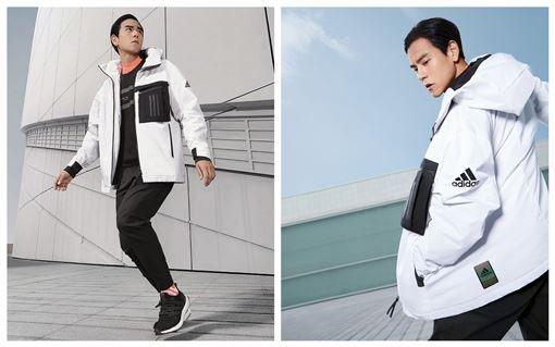 彭于晏與張鈞甯(adidas提供/翻攝自IG)
