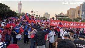 韓國瑜凱道造勢(圖/記者李國綸攝)