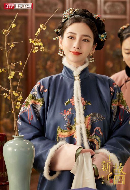 Angelababy(翻攝自上新了故宫微博)