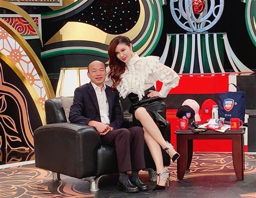 利菁、韓國瑜(翻攝自臉書)