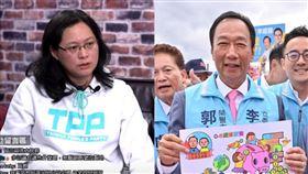 賴香伶、郭台銘 圖翻攝自館長YOUTUBE、郭台銘臉書