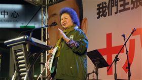 陳菊126秒影片逼哭網友:這張選票決定台灣未來(圖/翻攝自陳菊臉書)