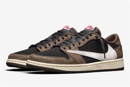 ▲Travis Scott X AJ1 Low潮鞋(圖/翻攝自網路)