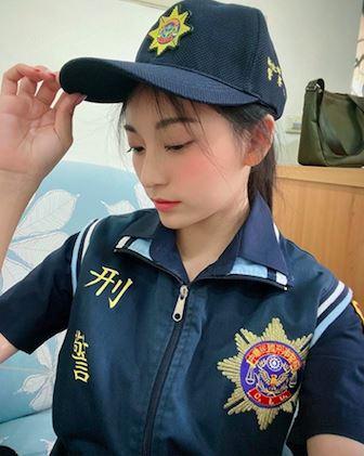 新北市,女警,周子瑜,國民女友,祈錦鈅