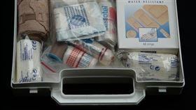 受傷、醫藥箱、急救箱、包紮(圖/翻攝自PIXABAY