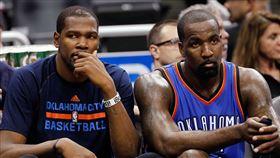 NBA/杜蘭特怒嘴前隊友…慘被打臉 NBA,奧克拉荷馬雷霆,Kevin Durant,Kendrick Perkins 翻攝自推特