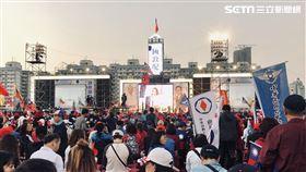 韓國瑜選前之夜(圖/記者林恩如攝影)