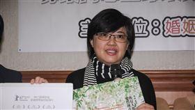 一人一故事寫給大法官,同志婚姻平權記者會,作家瞿欣怡 圖/記者林敬旻攝