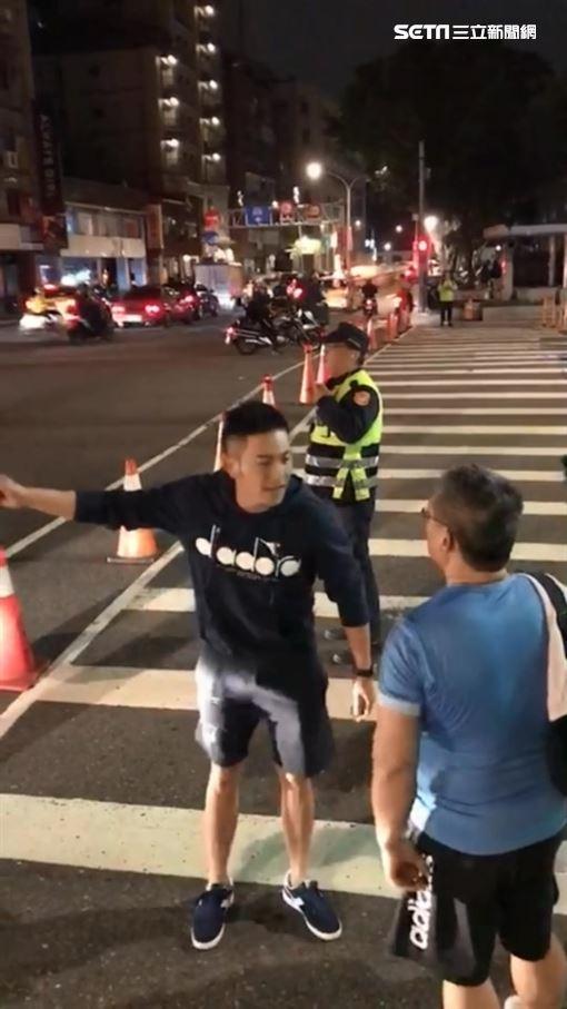 台北市,趙駿亞,管制區,妨害公務,筆錄