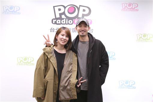 林知秦、言明澔。(POP Radio提供)
